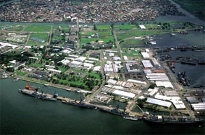 Subic Freeport Zone in the Philippines