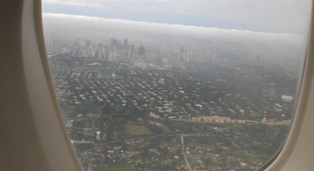 Manila From The Air