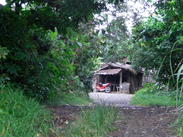 My hut in the Philippines