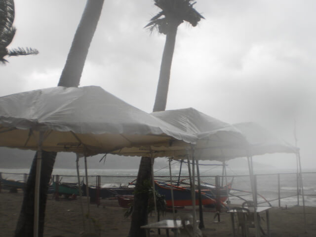 Wet Season in the Philippines arrived early this year with an unexpected typhoon