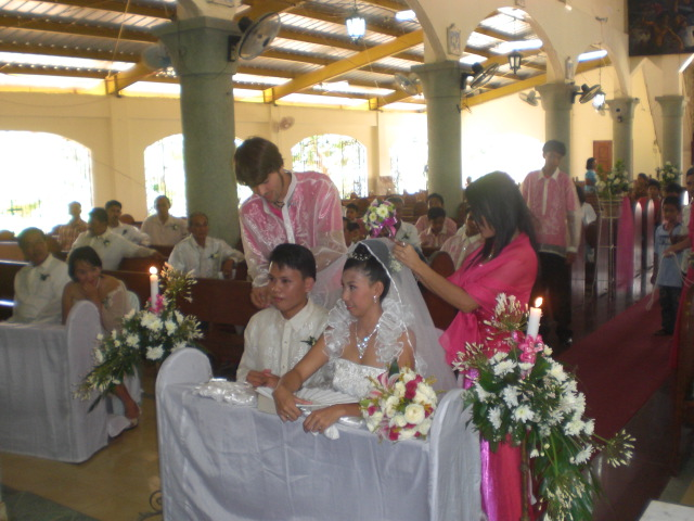 Filipino Wedding Party