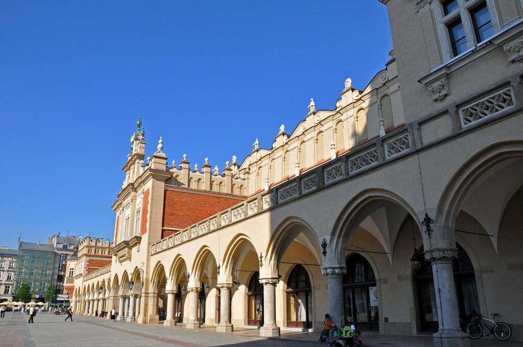 Sukiennice Museum in Krakow, Poland