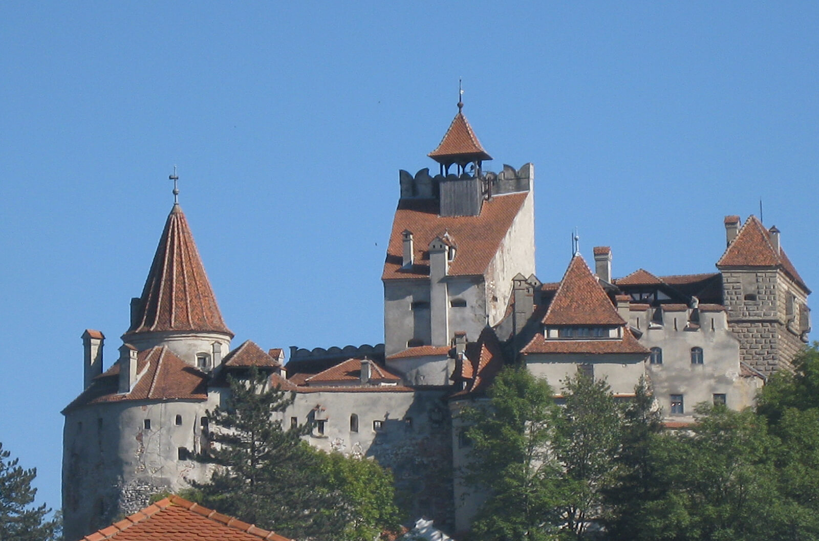 Bran Castle in Transylvania, aka Dracula's Castle, the most famous destination in all of Romania