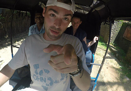 Derek Drives That! video series follows the perpetual nomad around the world as he convinces locals to hand over their keys