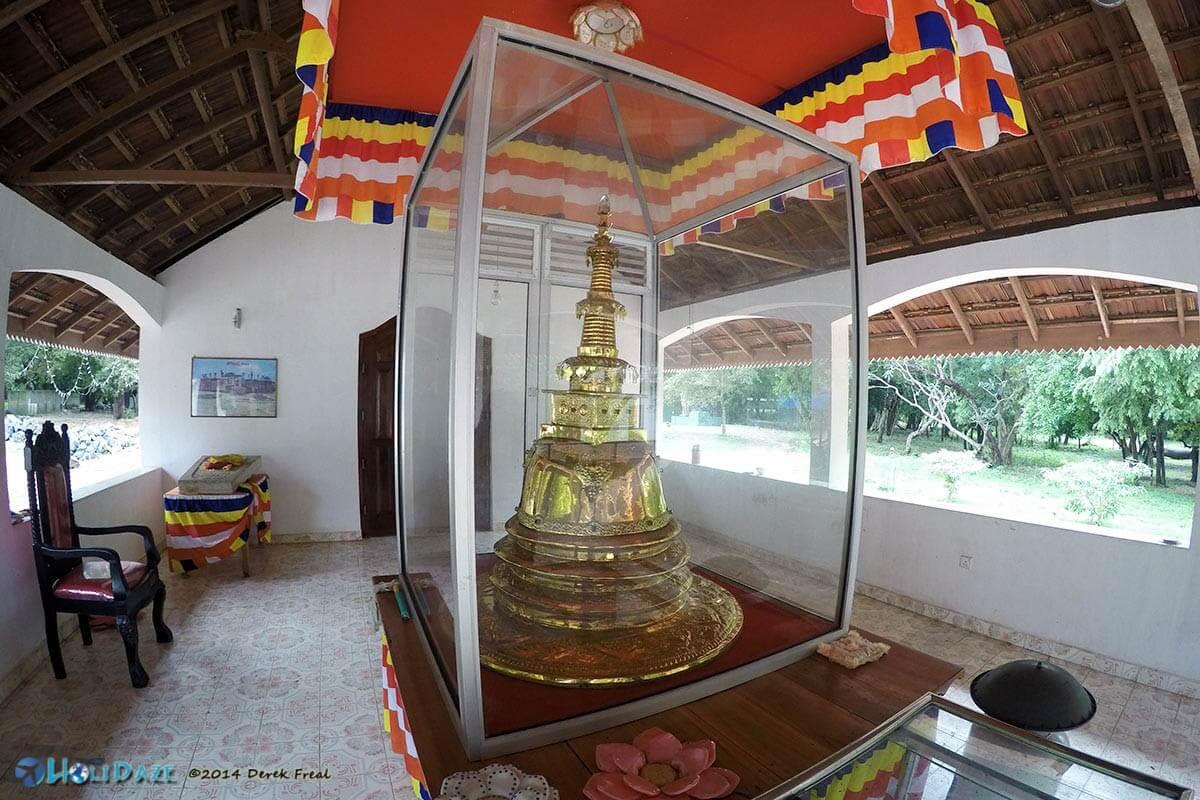 House of worship at Girihadu Seya in Trincomalee, Sri Lanka