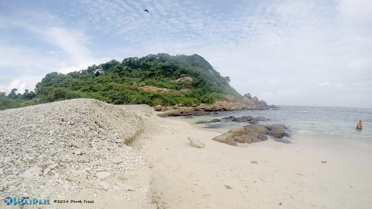 Pigeon Island National Park is one of the best things to do in Trincomalee, Sri Lanka