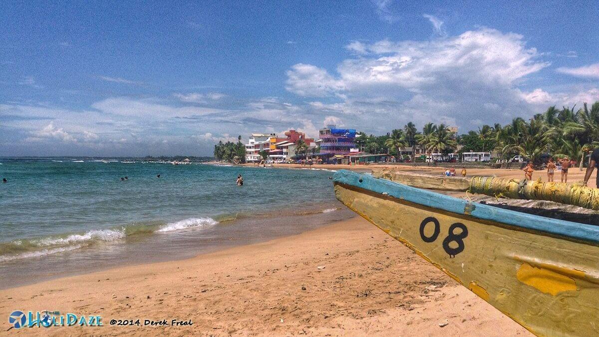 Galle beach in Sri Lanka