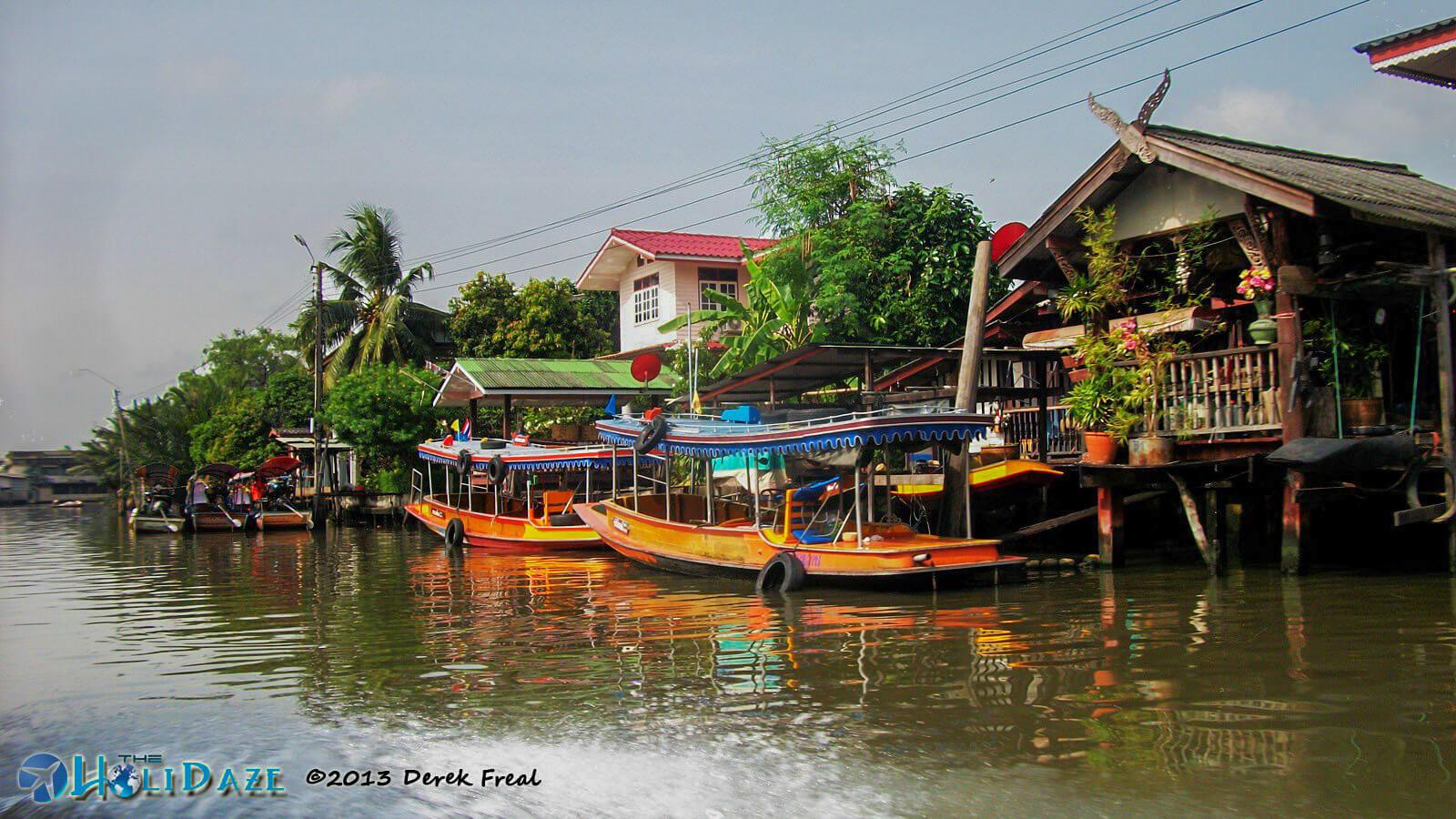 Cruising the backwaters Of Bangkok