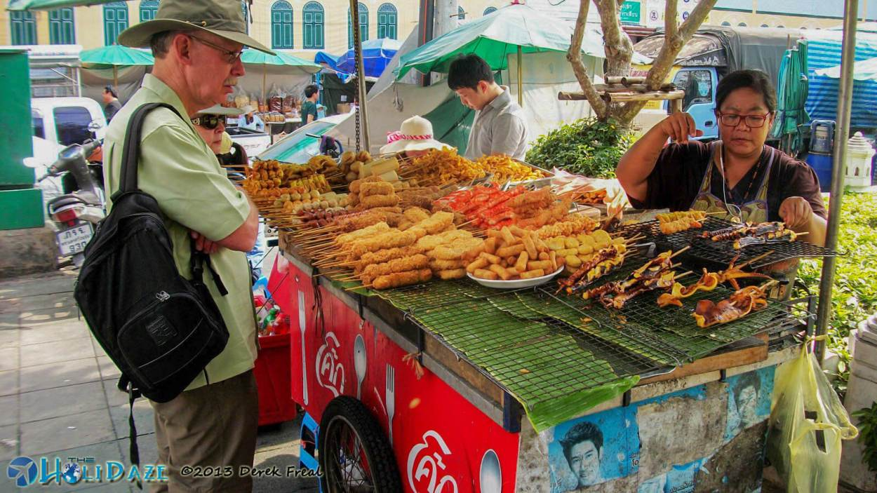 First Impressions of Bangkok street food