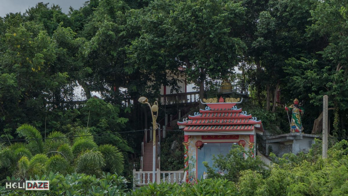 Hidden in the trees is Chao Pho To Kong Shrine, a unique and off the beaten path destination in Rayong province, Thailand