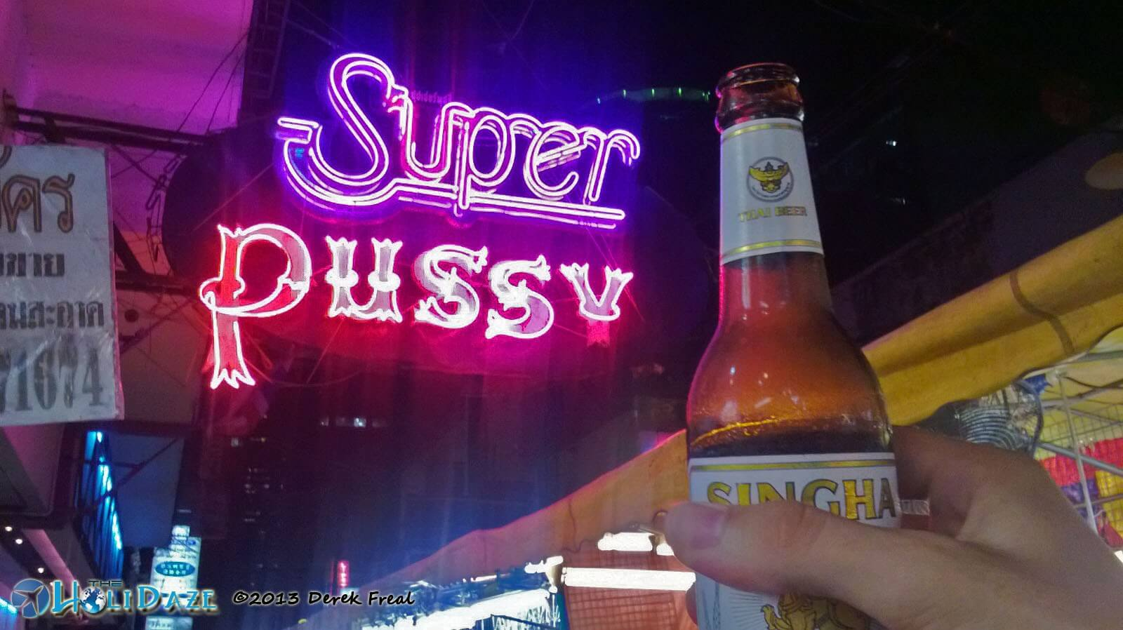 Bangkok nightlife in Patpong, where the world is your oyster