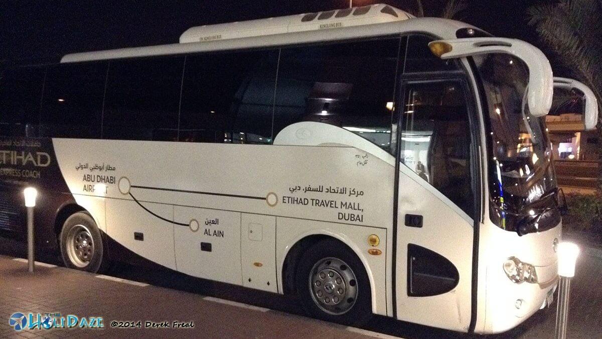 Etihad Shuttle: A free shuttle Abu Dhabi to Dubai