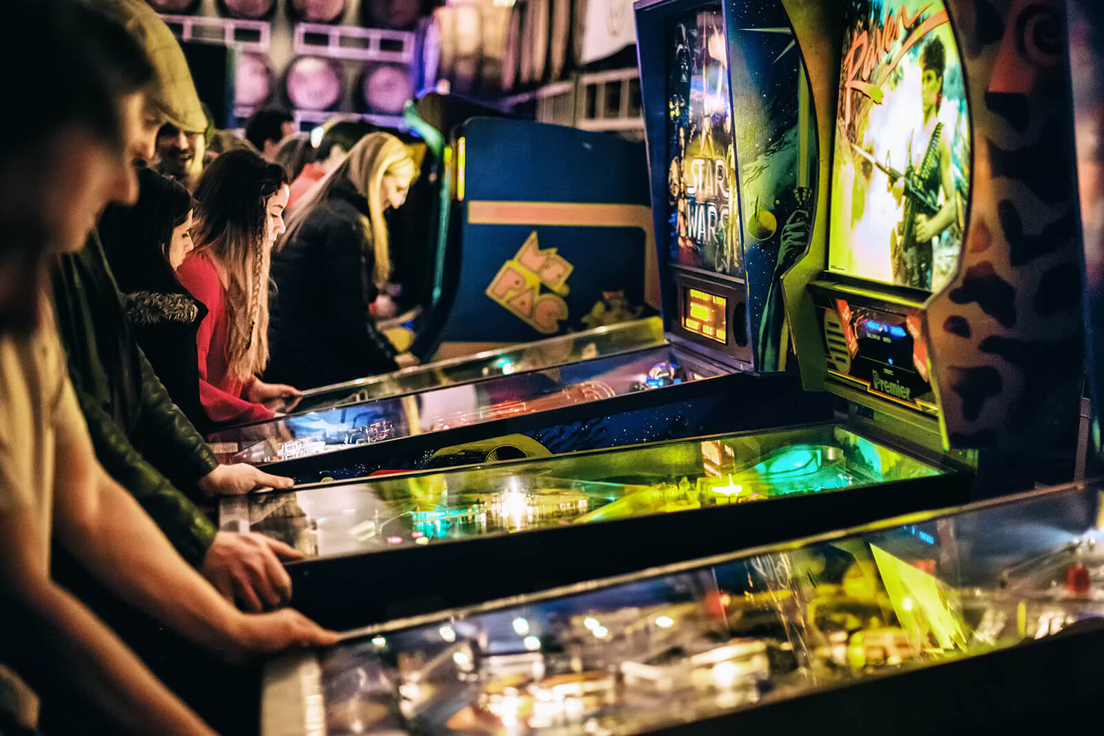 The Pac-Man Play Arcade is one of Atlanta's coolest and most offbeat places to visit