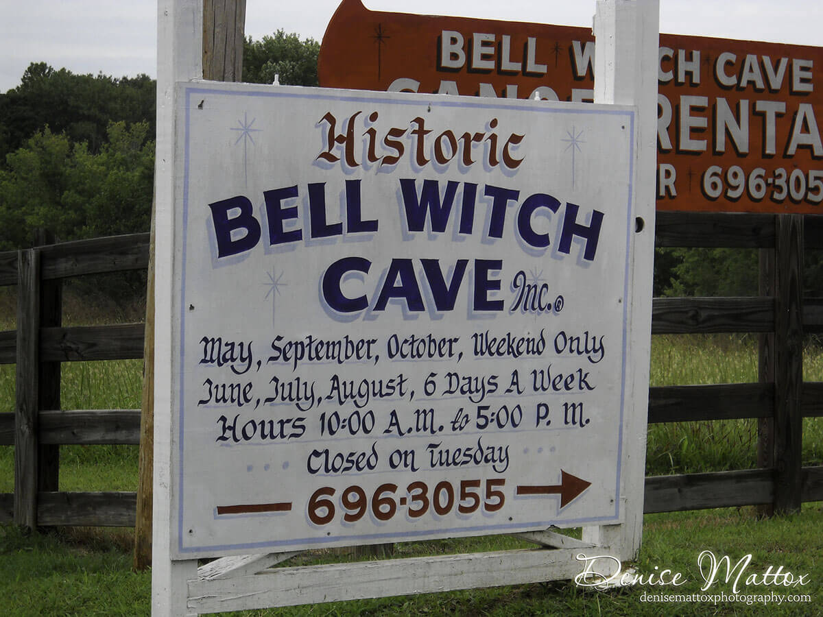 Bell Witch Cave in Tennessee