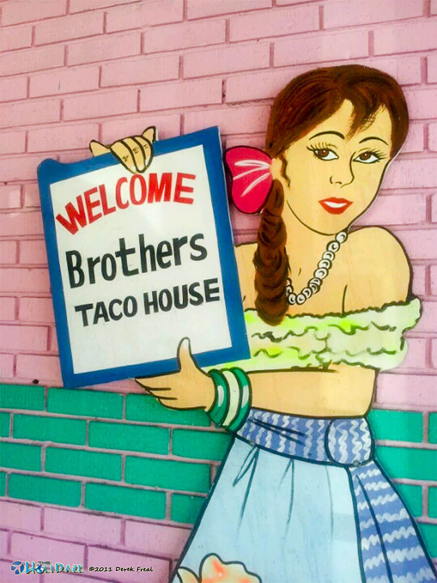 Brothers Taco House in Houston, Texas