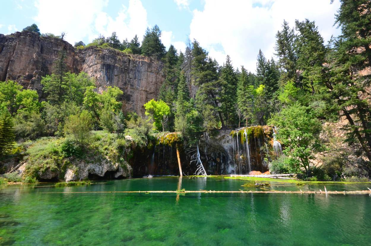 Hanging Lake is one of Colorado's most beautiful gems