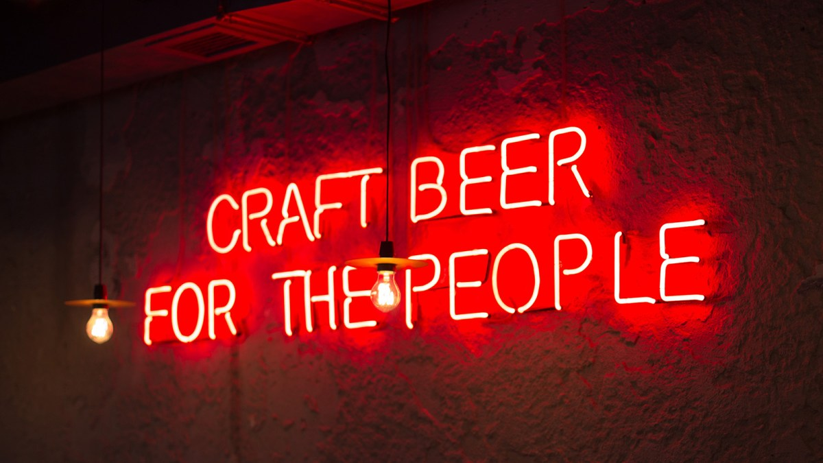 Craft beer for the people!