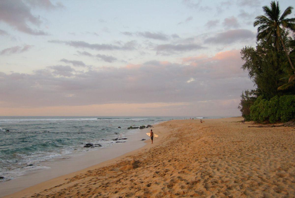 The North Shore of Oahu, Hawaii
