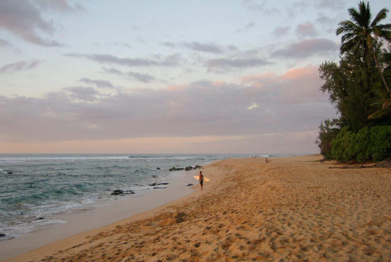 The North Shore of Oahu, Hawaii