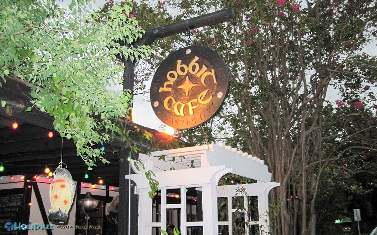 The Hobbit Cafe is one of the most delicious yet quirky Houston restaurants