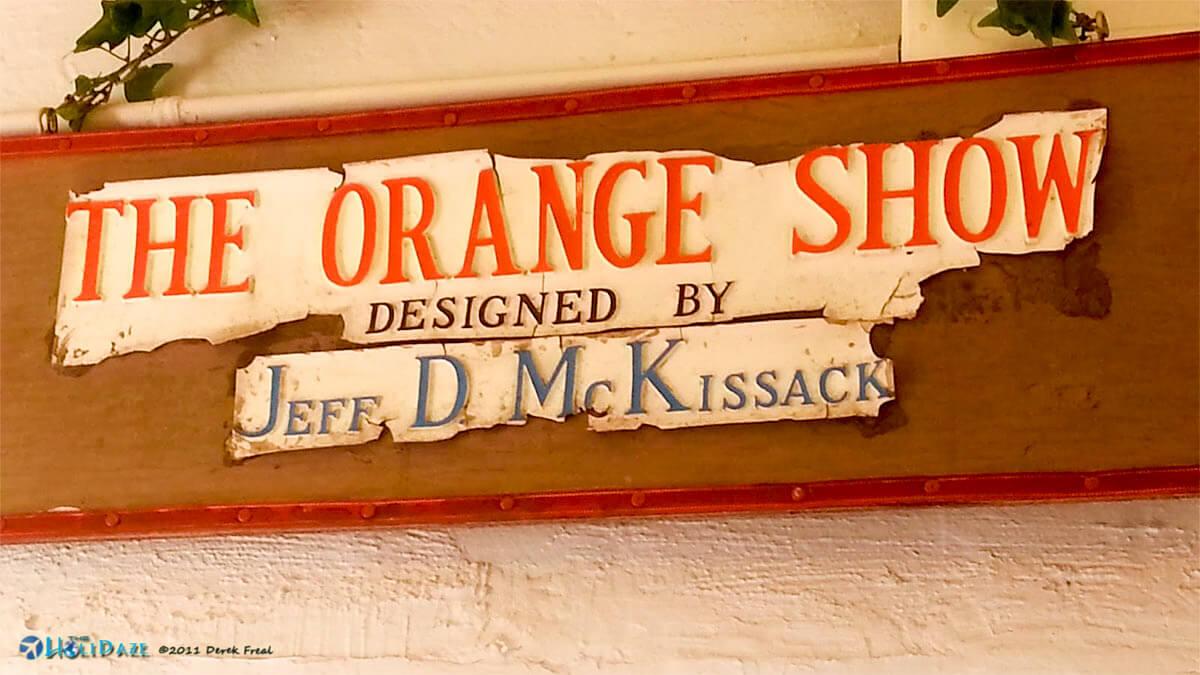 The Orange Show in Houston, Texas