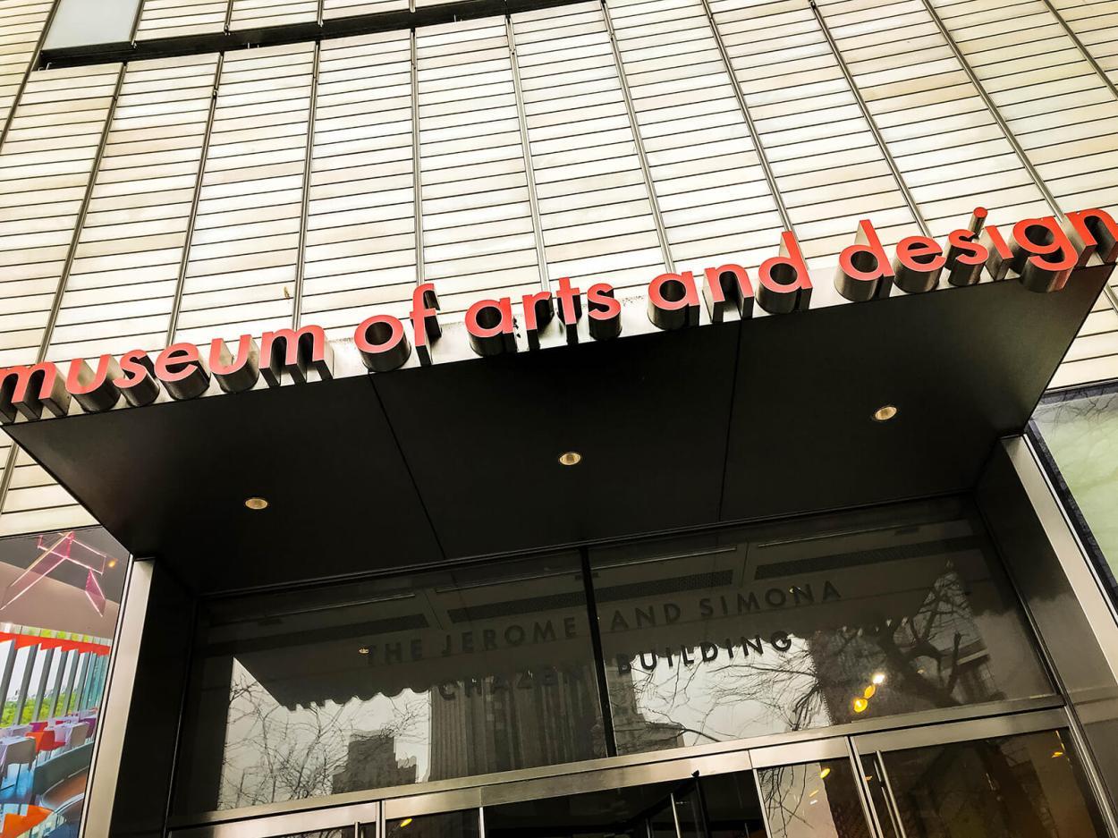 Exterior of MAD in Manhattan