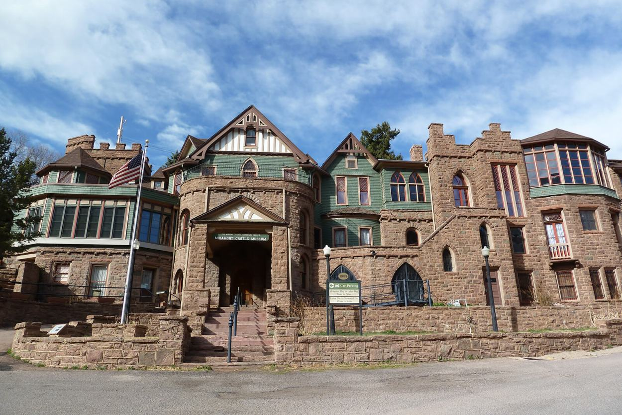 Miramont Castle Museum is one of the unique and offbeat Colorado Springs destinations