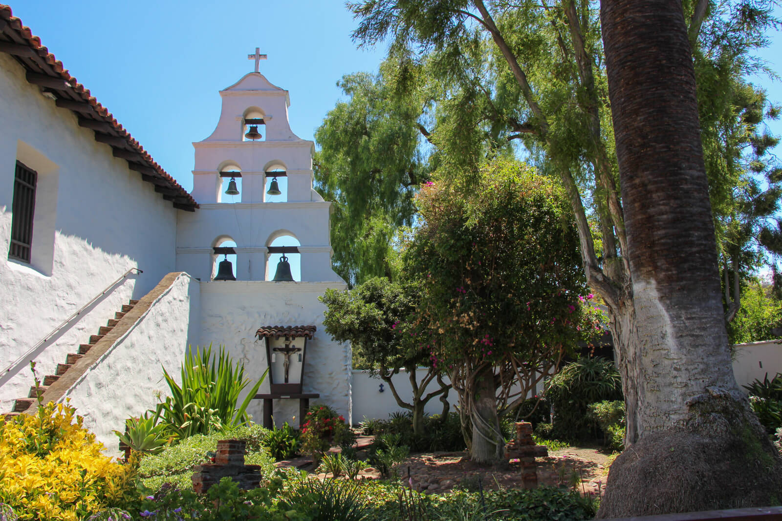 Mission San Diego de Alcala in California