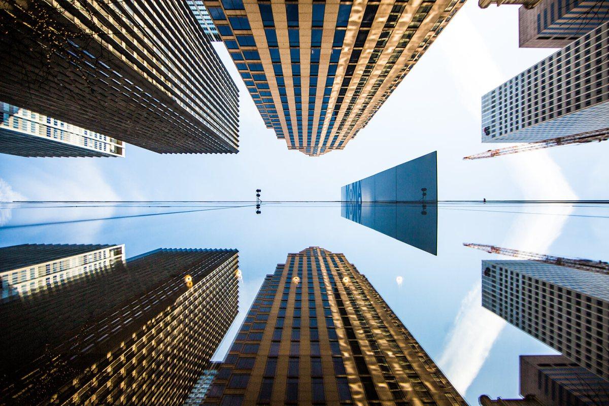 Exterior of MOMA in Manhattan