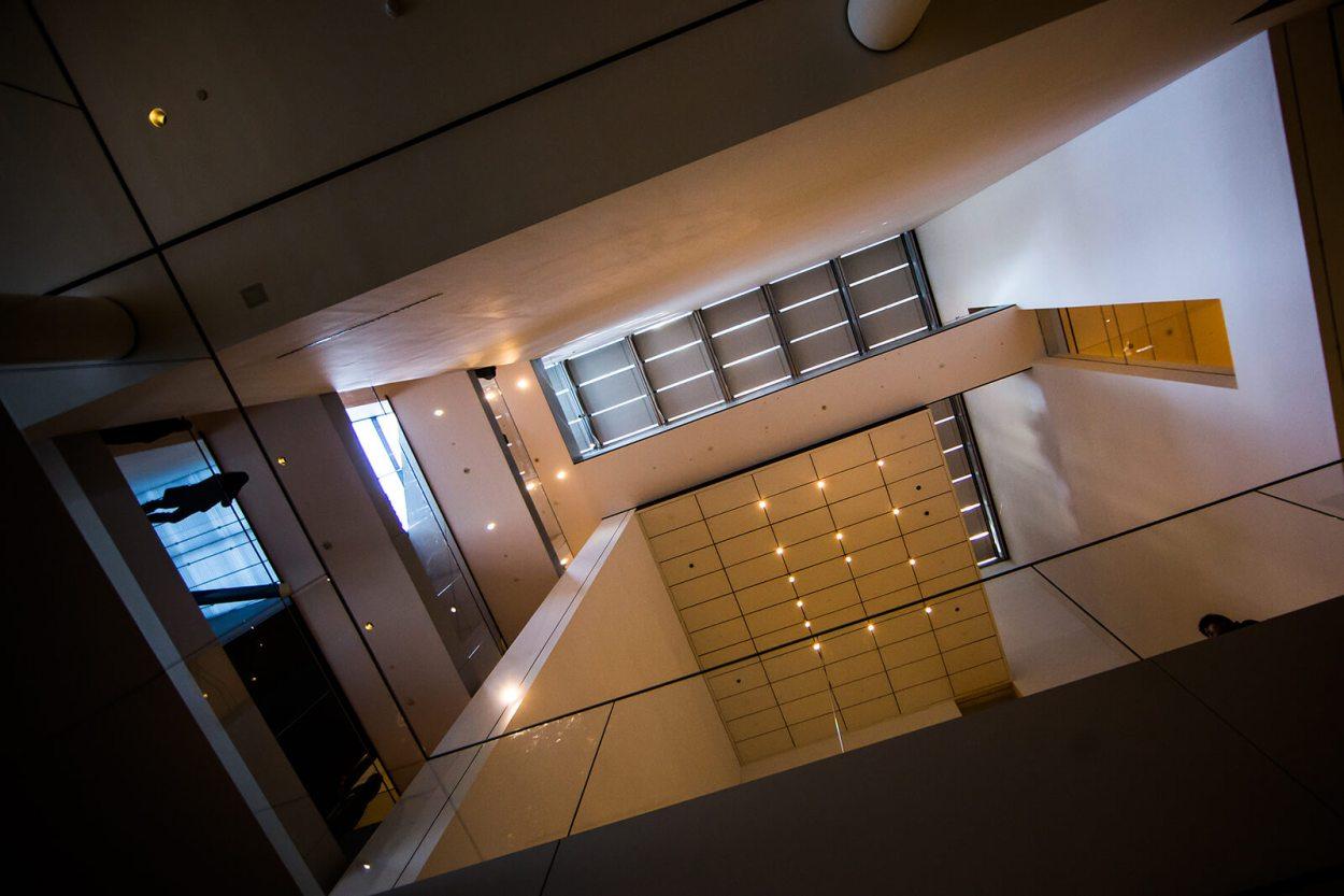 Interior of MOMA in Manhattan