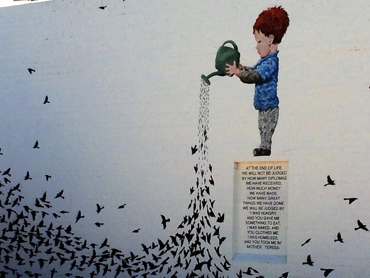 Phoenix street art