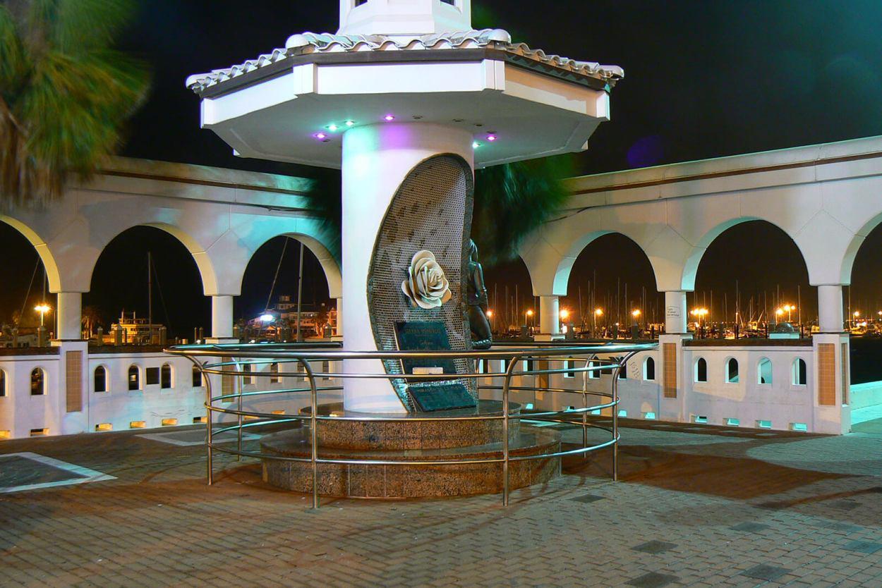 The Selena Memorial in Corpus Christi, Texas