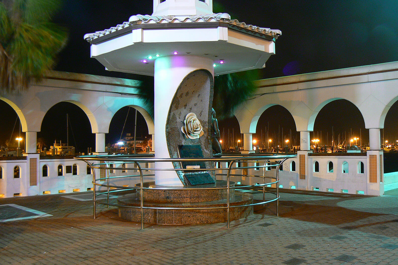 The Selena Memorial in Corpus Christi, Texas