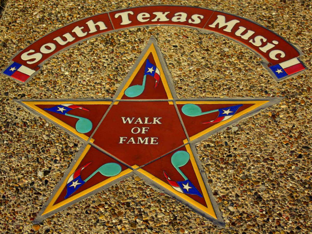 The South Texas Walk of Music Fame, one of the cool, offbeat things to do in Corpus Christi, Texas