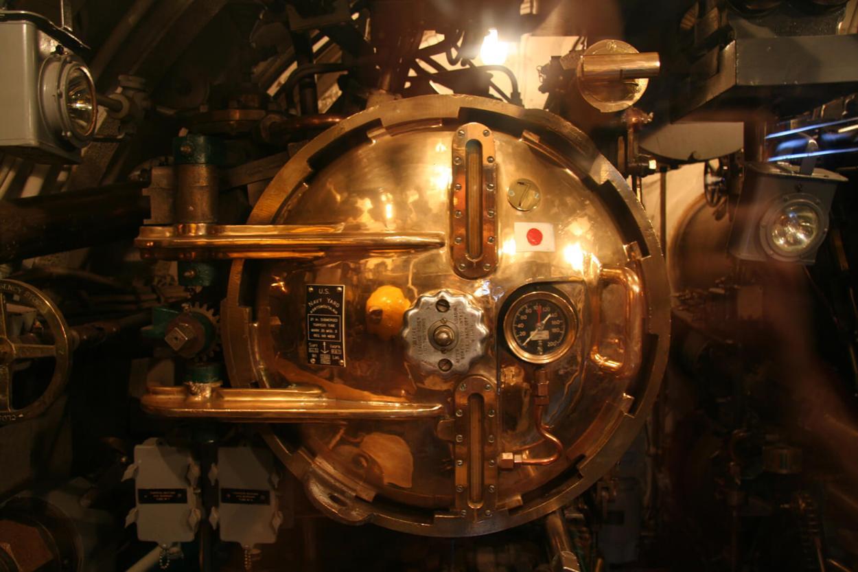 Exploring the USS Pampanito in San Francisco, California