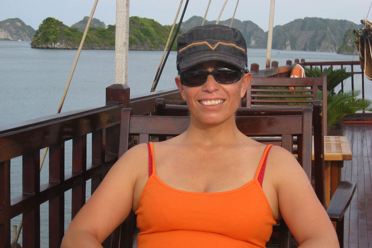 Cruising Halong Bay, Vietnam