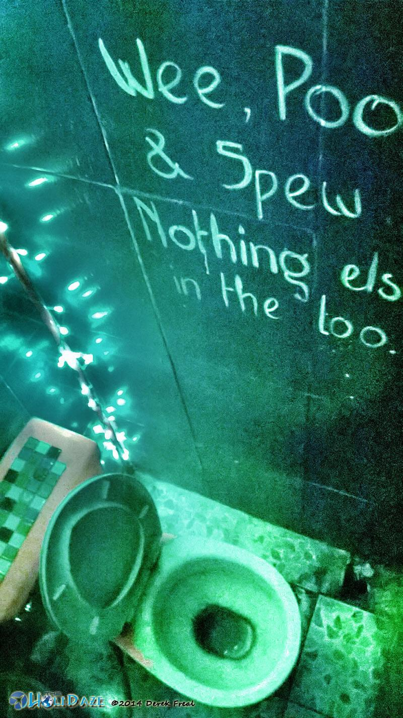 Funny Signs Around The World: Wee, Poo, & Spew, Nothing Else In The Loo