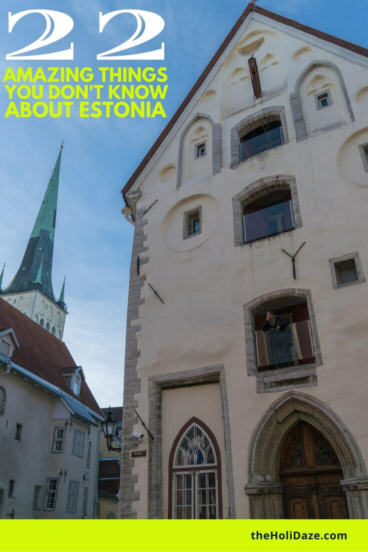 22 amazing things that you don't know about Estonia