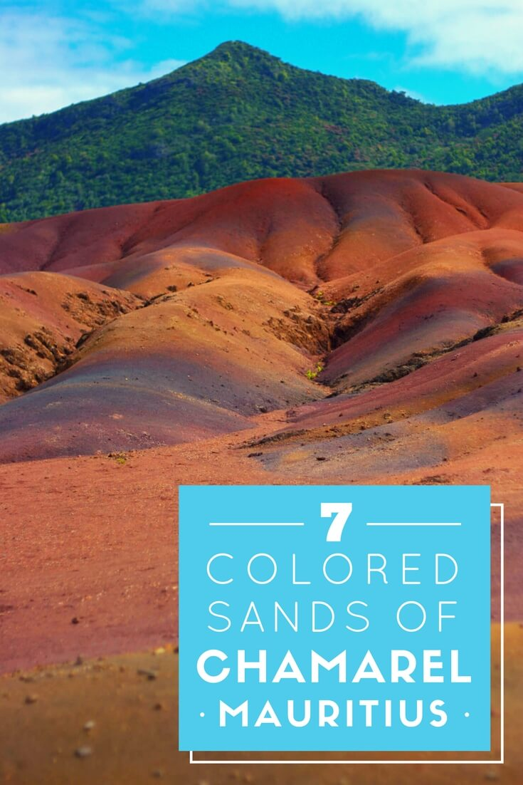 The breathtakingly beautiful yet strangely unexplainable seven-colored earth of of Chamarel, #Mauritius #traveltips #unique #oneofakind #incredible #travel #offbeat #chamarel #holidaze #geology