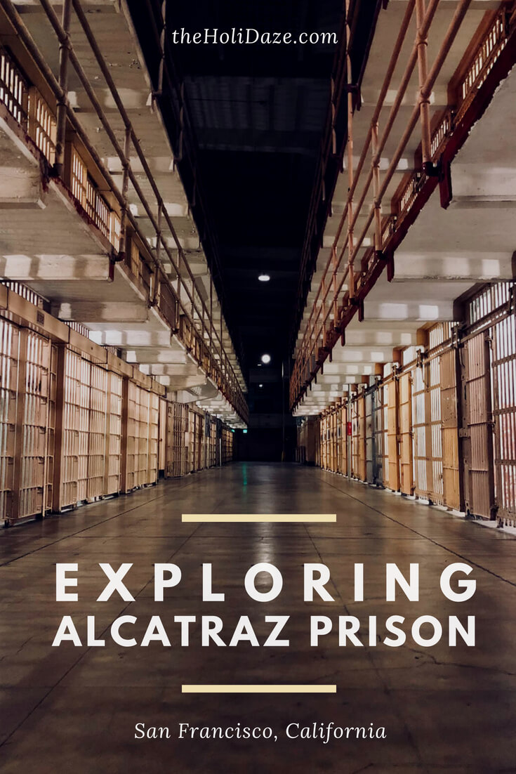 Exploring Alcatraz prison at night, one of the must-do things in San Francisco, #California #travel #offbeat #unique #history #SanFrancisco #exploremore