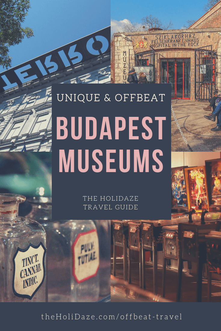 Top 5 unique and offbeat #Budapest museums #travel #traveltips #offbeat #holidaze #hungary #travelguide #museum