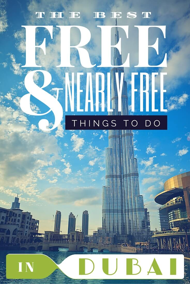 The ultimate travel guide to the best things to do in Dubai during your layover #traveltips #dubai #travel #uae #free #travelguide #inspiration #budgettravel
