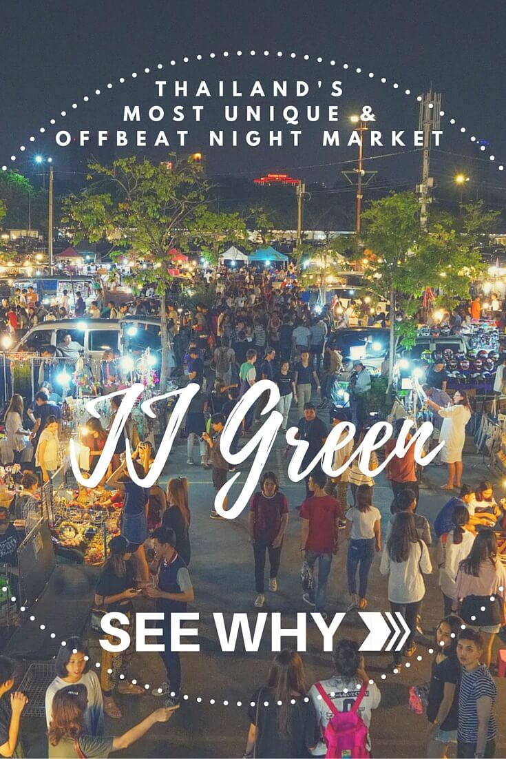 JJ Green Night Market in Bangkok is the most unique, offbeat and quirky market in all of Thailand