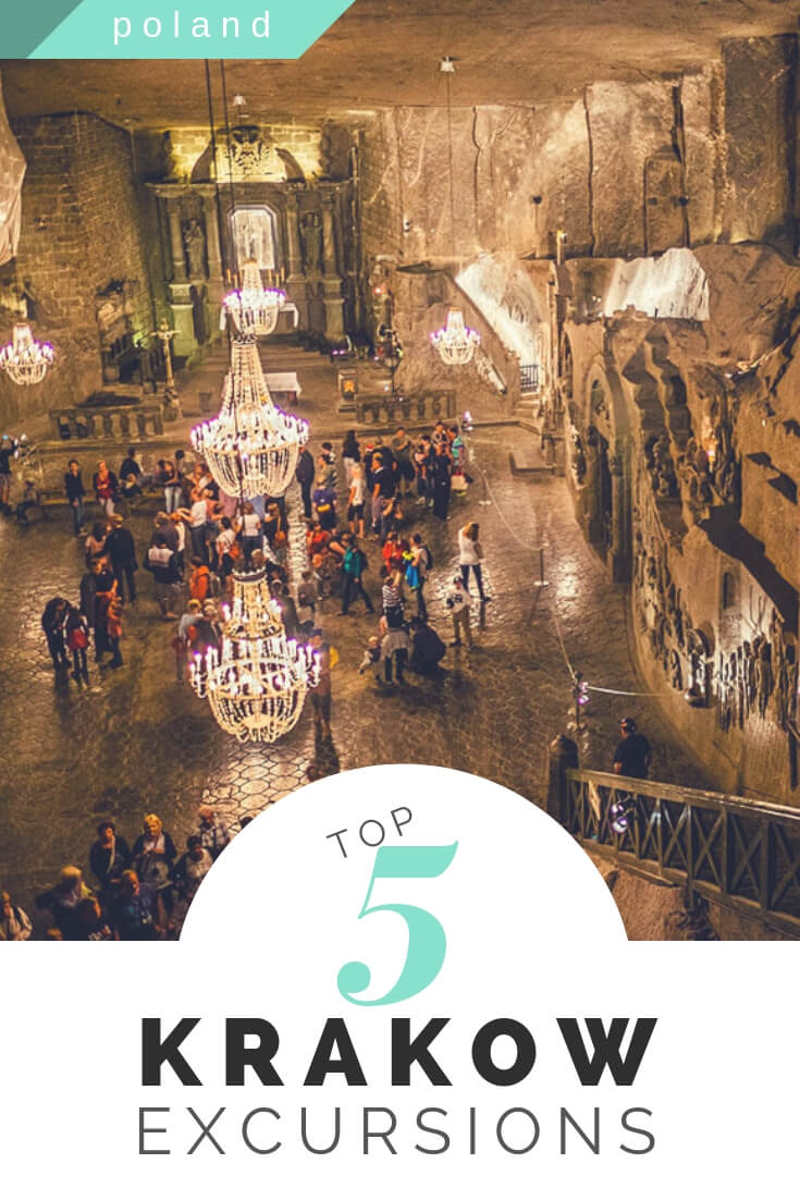 Top 5 Krakow excursions, including obvious sights like Wieliczka and Auschwitz plus a few overlooked things to do in Poland's second largest city #travelguide #travel #krakow #poland #traveltips #budgettravel #visitpoland