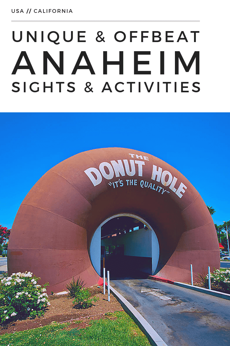 Unique and off sights and activities in #Anaheim, #California that are a lot cheaper than Disneyland #traveltips #offbeat #holidaze #travelguide