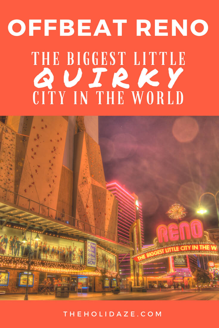 Welcome to the #offbeat side of #Reno, #Nevada: The Biggest Little #Quirky City in the World #travel #offthebeatenpath #USA #adventures