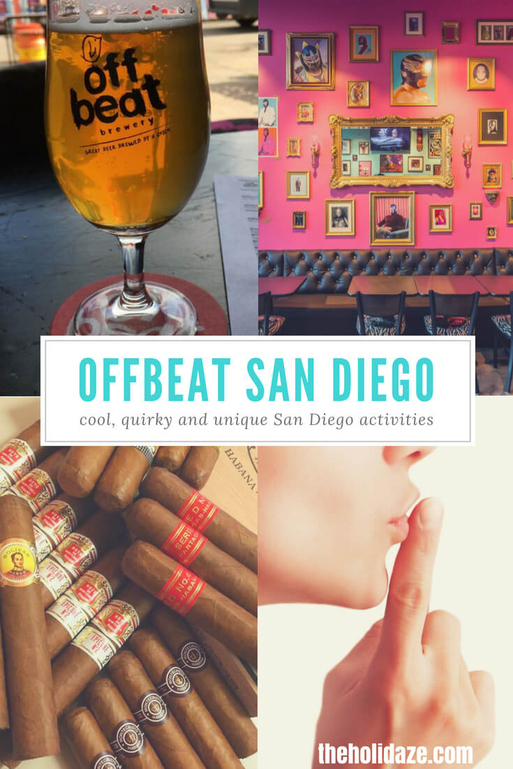 Cool, quirky, unique and offbeat San Diego sights and activities #travel #SanDiego #California #top5 #exploremore #unique #offbeat #holidaze