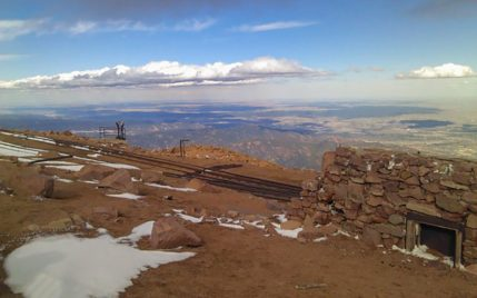 End of the line for the Pike's Peak Cog Railway