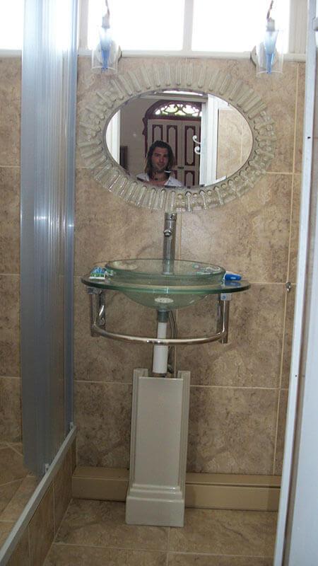 Bathroom at Perla del Pacifico, Costa Rica