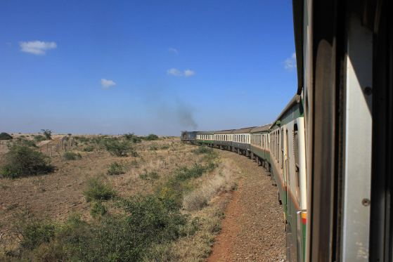 "Riding ""The Lunatic Express"" to Mombasa, Kenya"